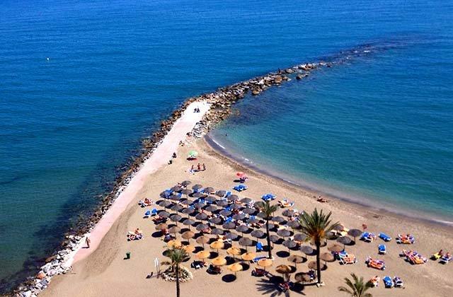 Plages de la Costa del Sol - Venus Bajadilla, Marbella