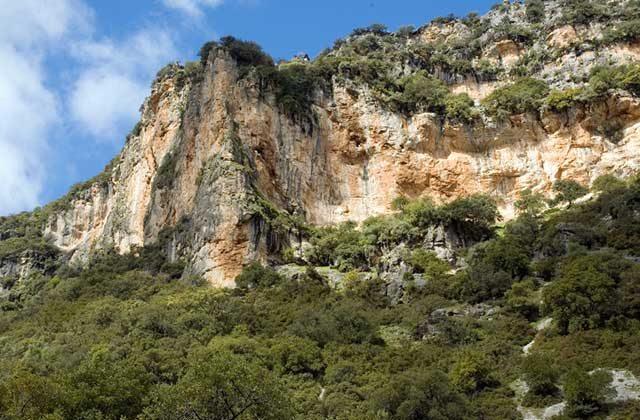 Garganta Seca- Puerto de la Breña. Fotografía: dipucadiz.es