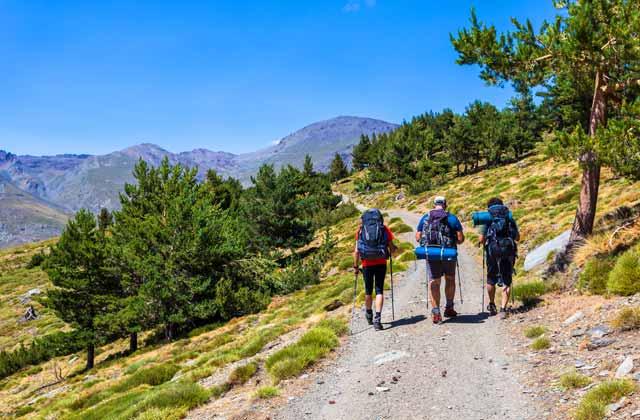 Senderismo en Andalucia