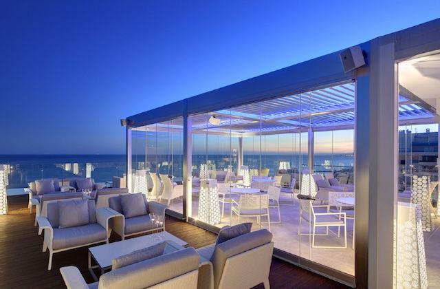 Belvue Rooftop Bar del hotel Fuerte Miramar