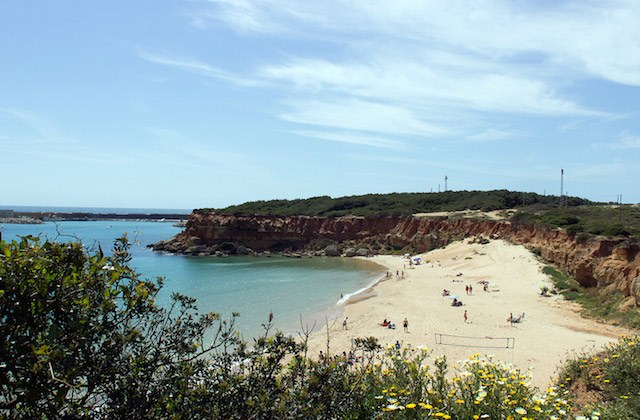 Costa de la Luz plages - Cala del Aceite - Cadix. Fotografía de cadiz-turismo.com