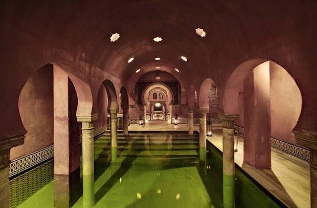Turismo de aguas termales - Hammam Al Andalus Granada