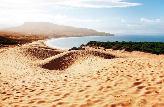 Costa de la Luz plages - Playa de Bolonia - Cadix