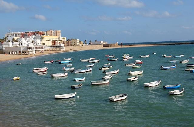 Costa de la Luz Strände - Playa de La Caleta, Cádiz
