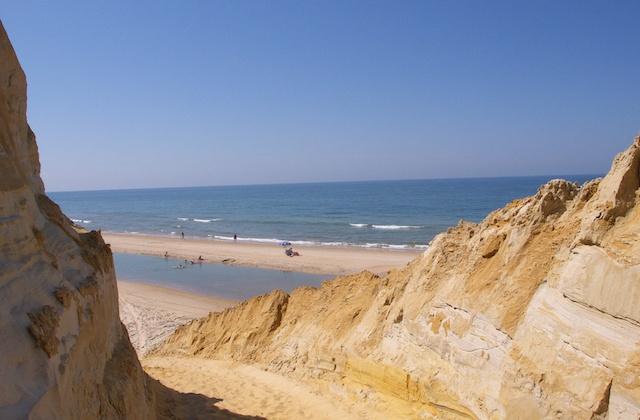 Costa de la Luz plages - laya de Mazagón - Huelva. Fotografía de Wikipedia