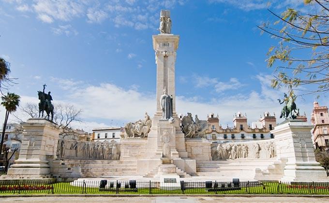Plaza de España, Cádiz