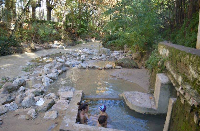 Turismo de aguas termales - Pozas de Alhama. Fotografía Alhama Turismo