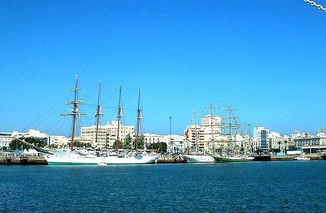 Andalusien Yachthäfen und Seehäfen - Puerto Bahía de Cádiz