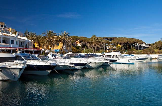 Andalusien Yachthäfen und Seehäfen - Puerto de Cabopino