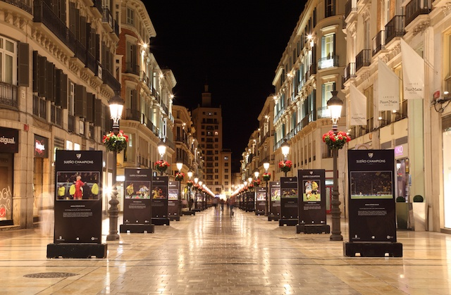 Málaga Day Trip - Calle Larios