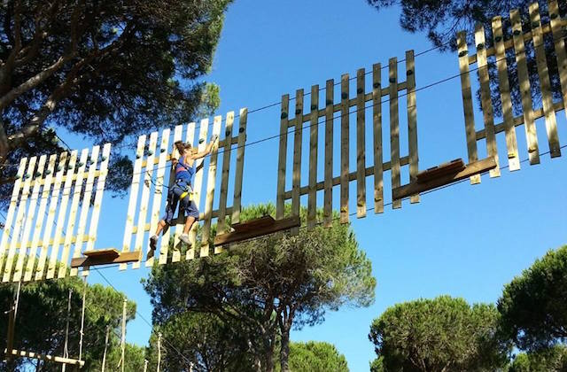 Things to do in Conil de la Frontera - Test yourself in Entre Ramas Aventura