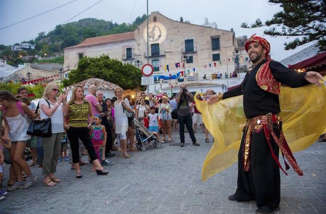 Ferias de Andalucía - Festival Frigiliana. Fotografía de Festival de las Tres Culturas