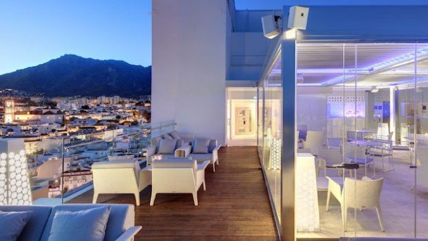 Hotel Fuerte Miramar - Belvue Rooftop bar