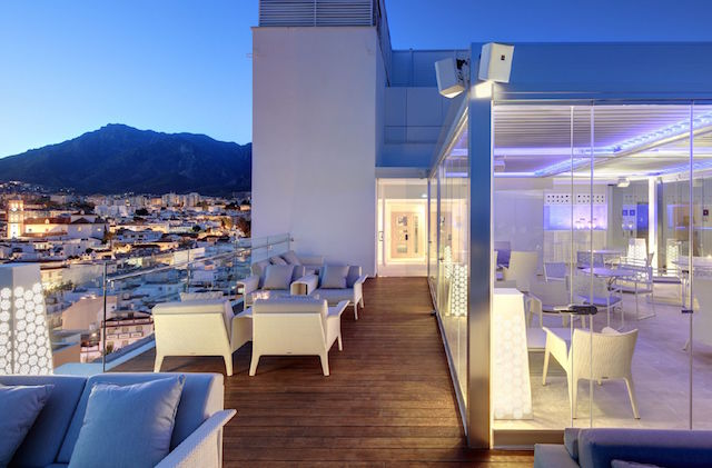 Amàre Marbella Beach Hotel - Belvue Rooftop bar