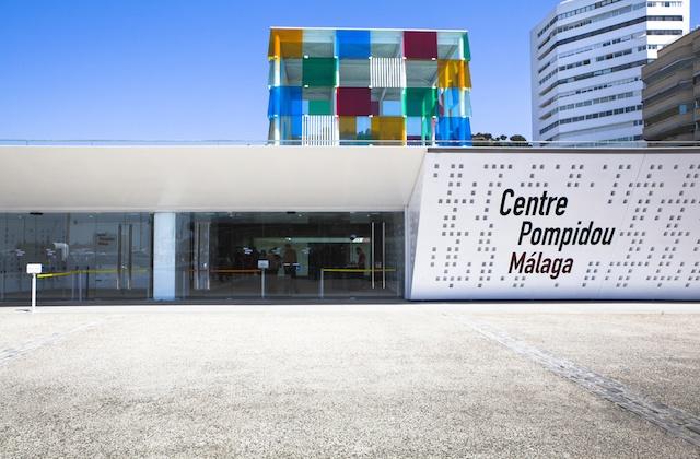 originelle Pläne, um den Valentinstag - Museumstag Pompidou Málaga
