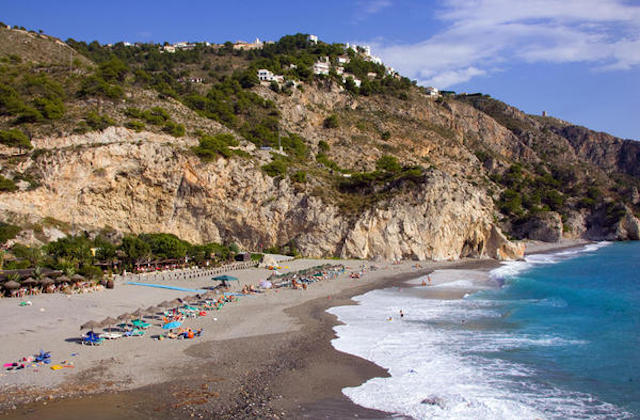 Playa de Cantarriján - Fotografía de estacerca.com
