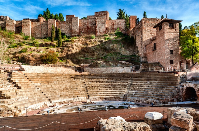 Málaga Day Trip - Roman theater and Alcazaba