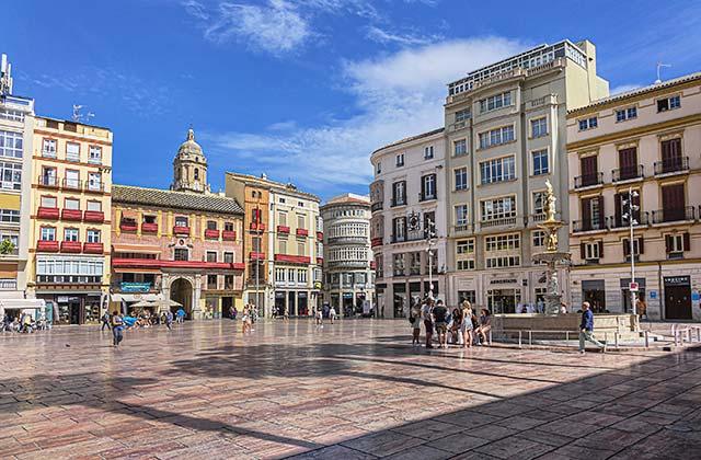 Málaga Plaza de la Constitución - credit: Kiev.Victor / Shutterstock.com