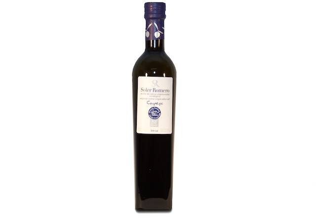 The best virgin olive oils: Aceite Soler Romero Ecológico.