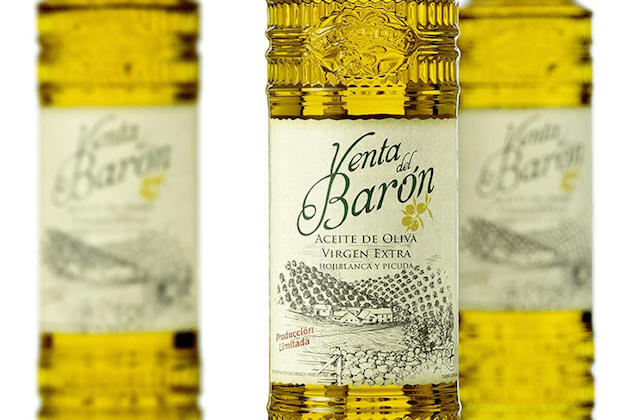 The best virgin olive oils: Aceite Venta del Barón