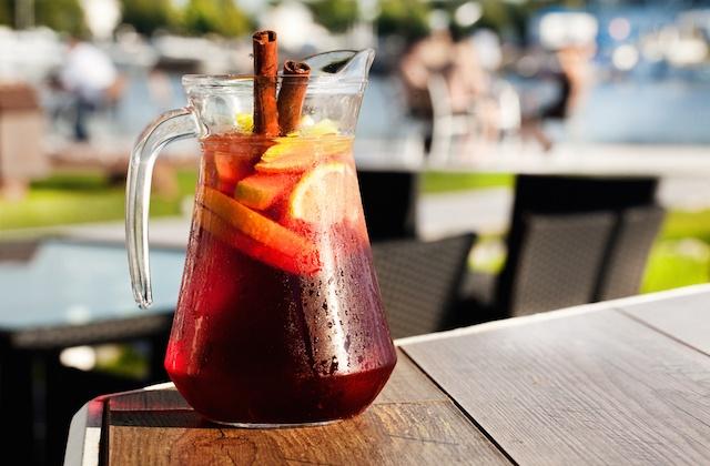 Bebidas de verano en Andalucía - sangría