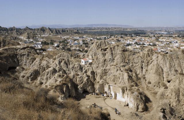 Cultural landscapes of Andalucia - Paisaje de Guadix-Purullena, Granada