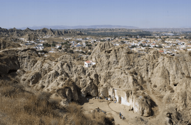 Andalusien Kulturlandschaften - Paisaje de Guadix-Purullena, Granada