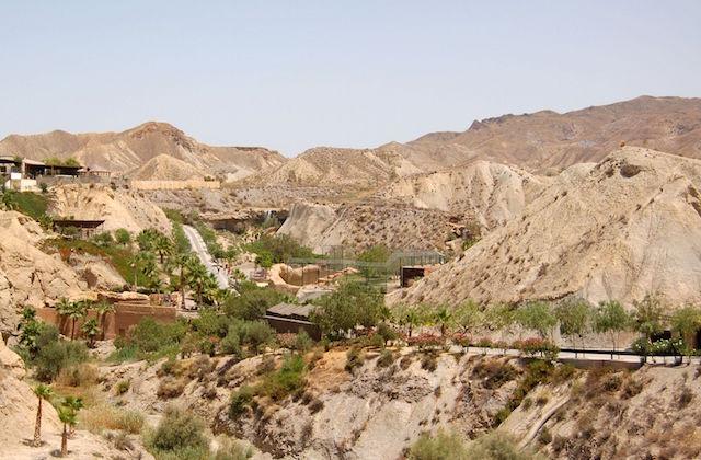 Cultural landscapes of Andalucia - Paisaje de Tabernas, Almería