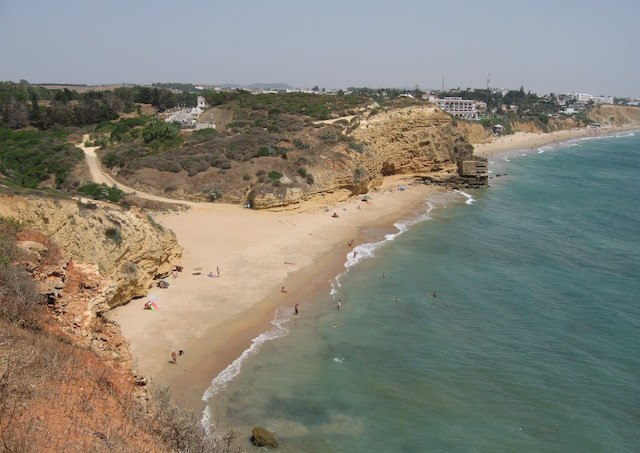 Strände von Conil - Playa Fuente del Gallo. Fotografía de www.fotomusica.net Playa del Calamacho. Fotografía de Diputación de Cádiz