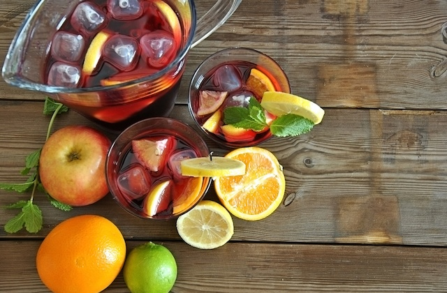 how to prepare sangria drink