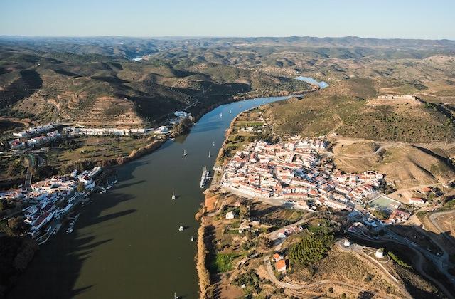 Paisajes culturales de Andalucía - Sanlúcar de Guadiana. Fotografía de www.limitezero.com