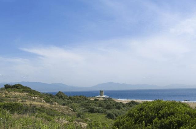 Andalusien Kulturlandschaften - Torres vigía de la playa de Castilla de Almonte, Huelva