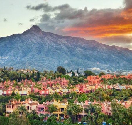 Vistas de Marbella. Fotografía de Marbella 2.0