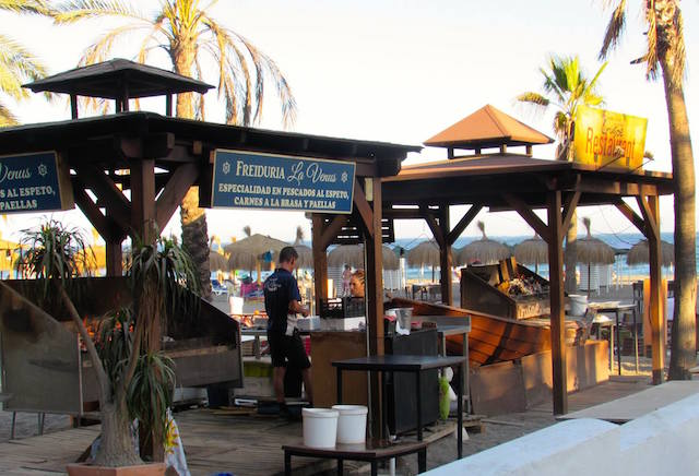 Donde comer espetos - Freiduría la Venus, Marbella