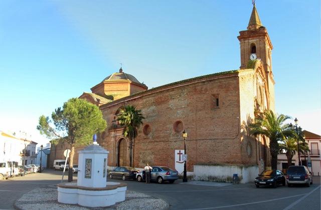 Routes des villages blancs de Cadix et Huelva: le charme de l'est andalou: Iglesia Parroquial de Nuestra Señora de Gracia, Alosno