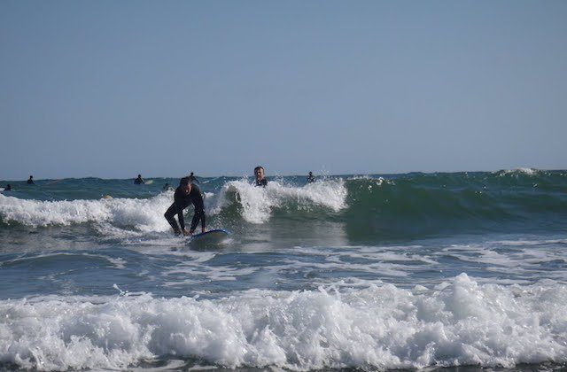 Strände zum Surfen Andalusien - Playa de Cabopino, Marbella. Fotografía de http:::nalusur.blogspot.com.es: