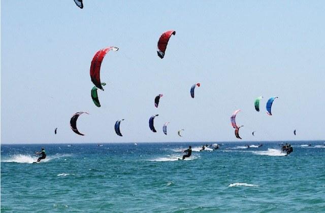 Plages de surf en Andalousie - Playa de Punta Umbría. Fotografía de elcorreoweb.es