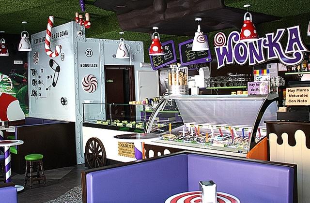 Cafetería Wonka