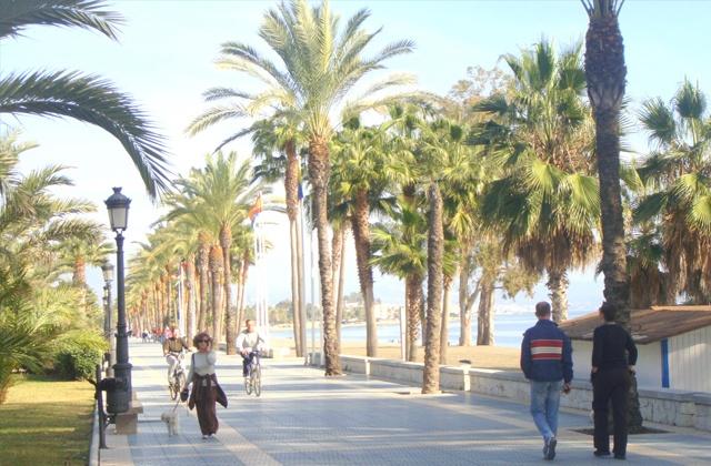 Paseo Marítimo de San Pedro de Alcántara