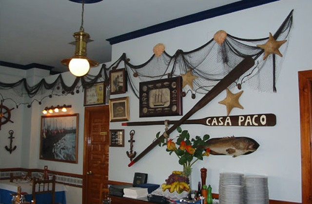 The best restaurants in Costa del Sol, the most authentic products of these roadside restaurants: RESTAURANTE CASA PACO