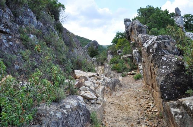 Genießen Sie die besten Wanderstrecken in Alcalá de los Gazules, Cádiz: Ruta de los Molinos