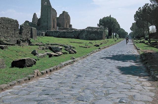 Via Appia, calzada romana