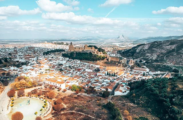 Antequera, vista aerea