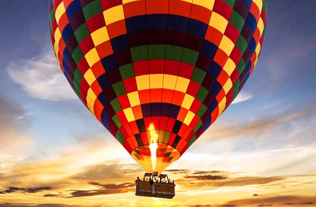 Balloon flights Andalucia - HOT AIR BALLOON RIDE