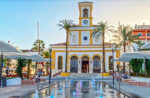 Plaza de la Iglesia, San Pedro