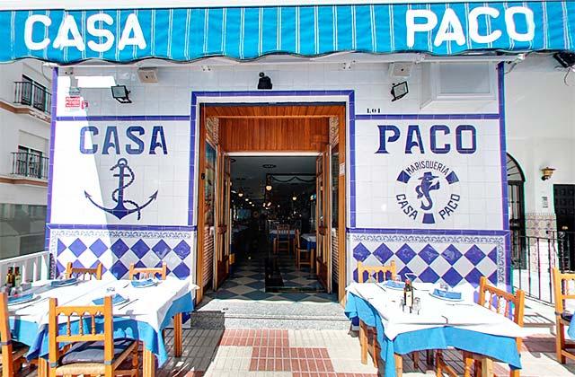 Restaurante Casa Paco, Alhaurín