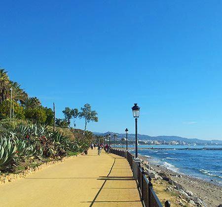 rutas ciclistas Marbella