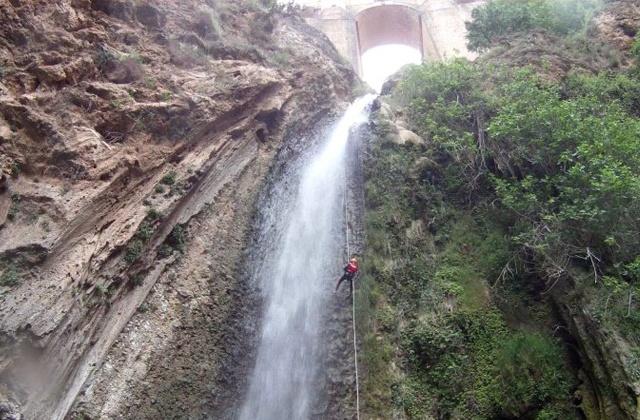 que ver y hacer en la Sierra de Grazalema - Barranquismo en el Tajo de Ronda