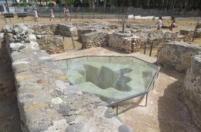 Une mer d'historie, Marbella a travers le temps: Basílica paleocristiana de Vega de Mar