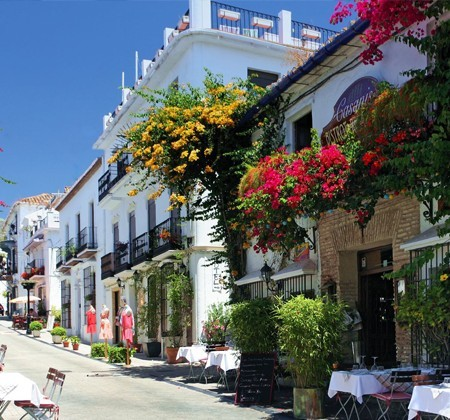Une mer d'historie, Marbella a travers le temps : Casco Antiguo de Marbella